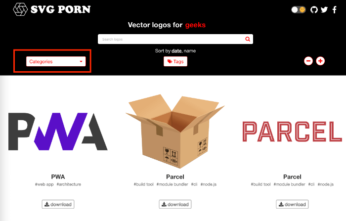 SVG PORN カテゴリー